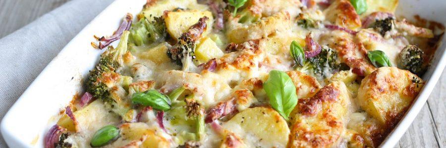 Brocolis poêlés à la Pancetta et au parmesan