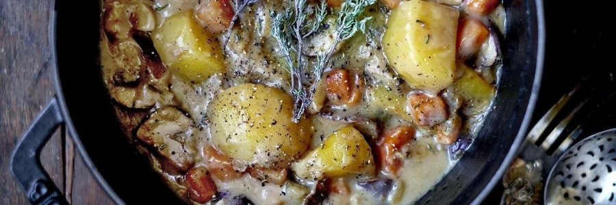 Légumes d'automne au cidre