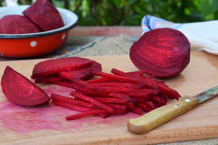 Frites de Betteraves Rouges